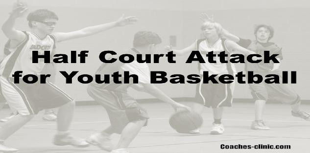 Half Court Attack in Youth Basketball