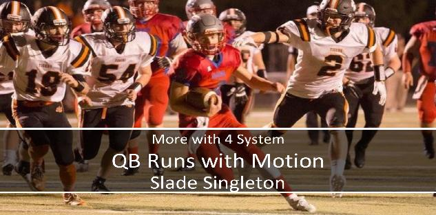 More with 4 System - QB Runs with Motion