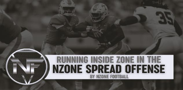 Running Inside Zone in The NZone Spread Offense
