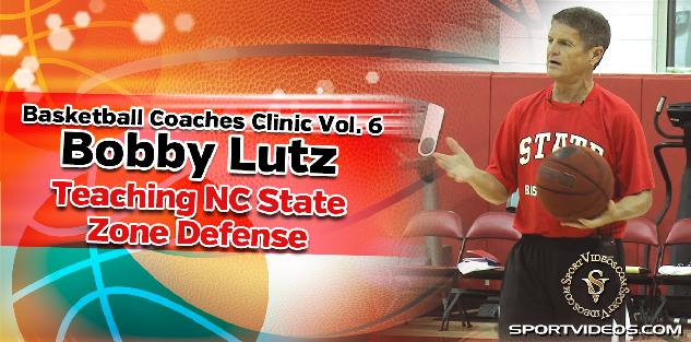 Basketball Coaches Clinic Vol. 6 - Teaching NC State Zone Defense featuring Coach Bobby Lutz