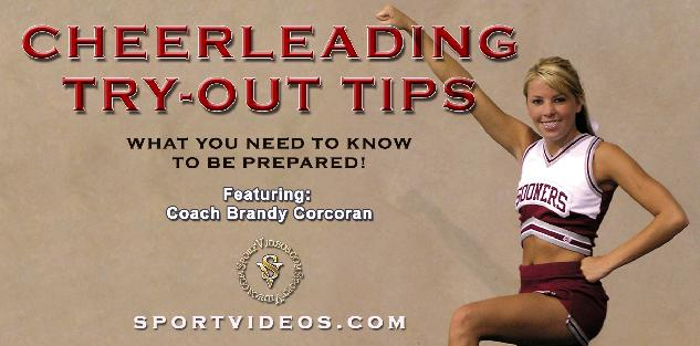 Cheerleading Try-out Tips featuring Coach Brandy Corcoran
