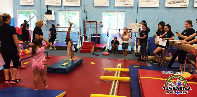Patti Komara's Tumblebear Gymnastics Program