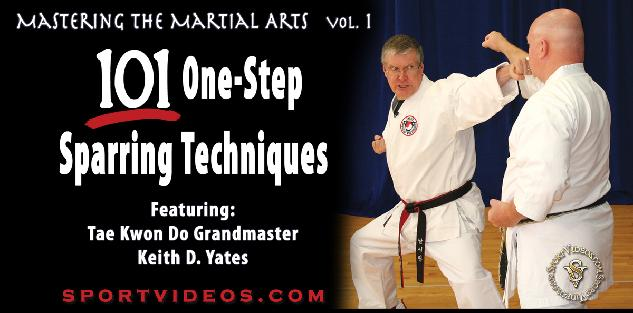 Mastering the Martial Arts Vol. 1 - 101 One-Step Sparring Techniques Featuring Grandmaster Keith Yates