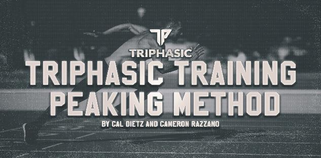 Triphasic Training Peaking Method