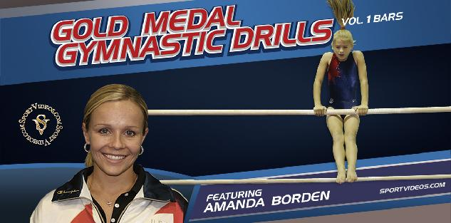Gold Medal Gymnastics Drills Bars featuring Coach Amanda Borden