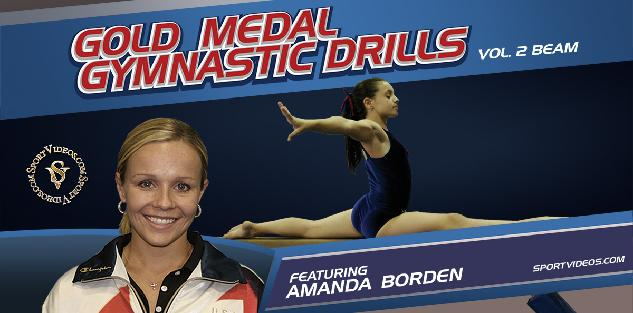 Gold Medal Gymnastics Drills Beam featuring Coach Amanda Borden