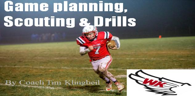 Game planning, Scouting & 331 Football Drills
