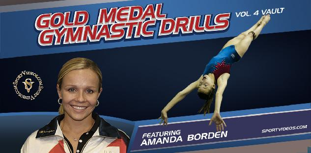 Gold Medal Gymnastics Drills Vault featuring Coach Amanda Borden