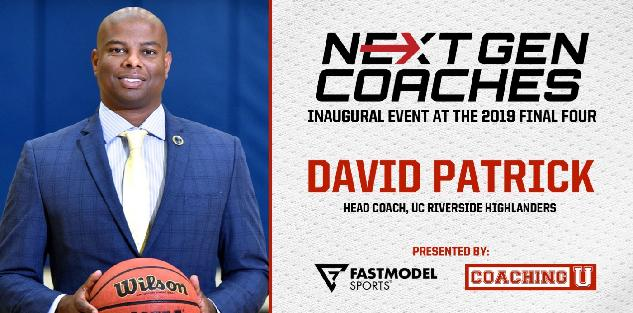 David Patrick, UC Riverside Head Coach: NextGen Coaches Inaugural Event