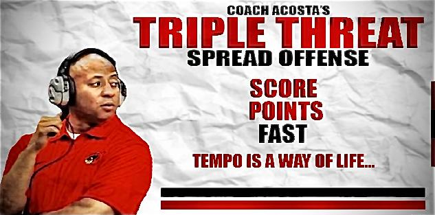 Triple Threat Spread No Huddle Offense: Game Planning