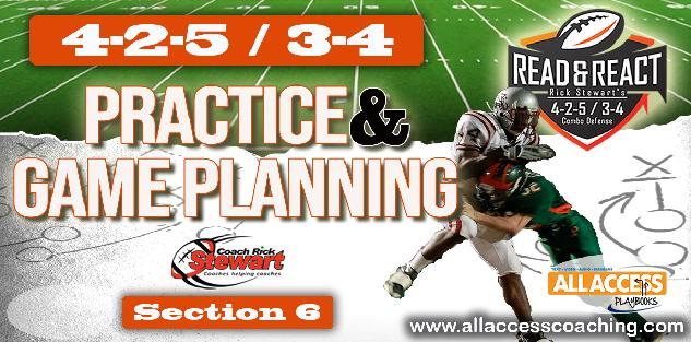 425 READ & REACT DEFENSE: Practice & Game Planning Manual