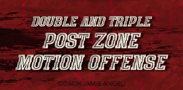 Double and Triple Post Zone Motion Offense