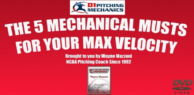 5 Mechanical Musts for Max Velocity