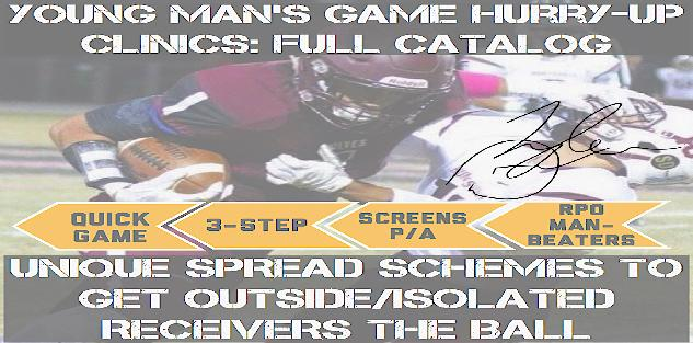 YOUNG MAN`S GAME HURRY-UP CLINICS: FULL CATALOG