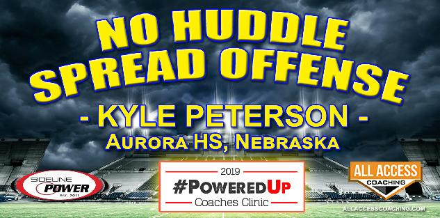 NO HUDDLE SPREAD OFFENSE - Aurora HS Nebraska