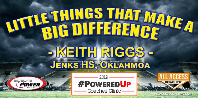 LITTLE THINGS THAT MAKE A BIG DIFFERENCE - Jenks HS Oklahoma