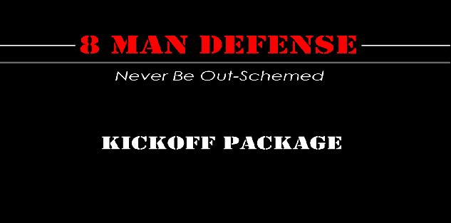 8 Man Football Kickoff Package