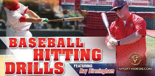 Baseball Hitting Drills featuring Coach Ray Birmingham