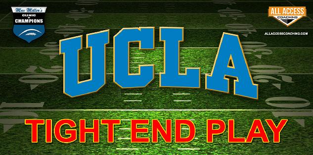 Tight End Play - UCLA