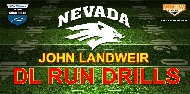 Defensive Line Run Drills - Nevada Reno