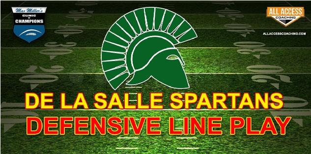 DEFENSIVE LINE PLAY - De La Salle California