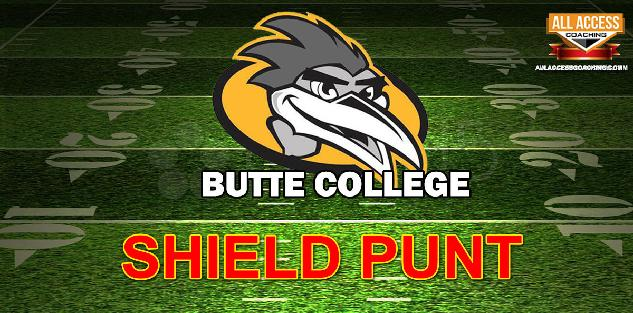 SHIELD PUNT - Butte College