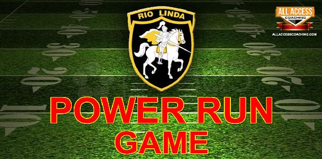POWER RUN GAME - Rio Linda HS Northern CA