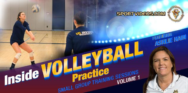 Inside Volleyball Practice Vol. 1 featuring Coach Ashlie Hain
