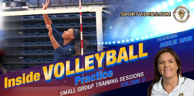 Inside Volleyball Practice Vol. 2 featuring Coach Ashlie Hain