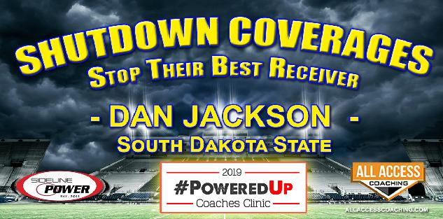 SHUTDOWN COVERAGES to STOP THEIR BEST RECEIVER - South Dakota State