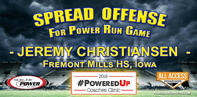 SPREAD POWER RUN GAME for 8-man Football