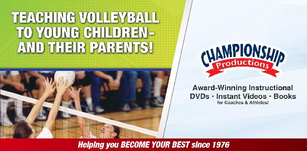 Teaching Volleyball to Young Children and their Parents
