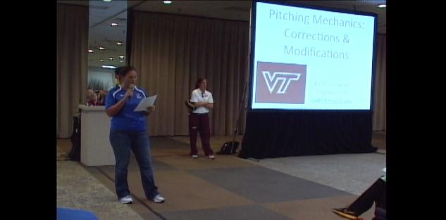 Pitching Mechanics: Corrections & Modifications #NFCA2012