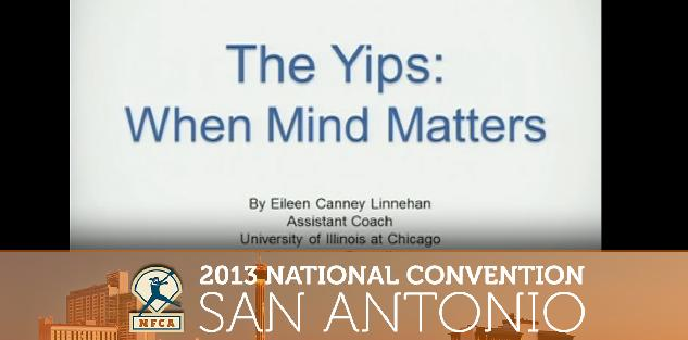 The Yips: When Mind Matters #NFCA2013