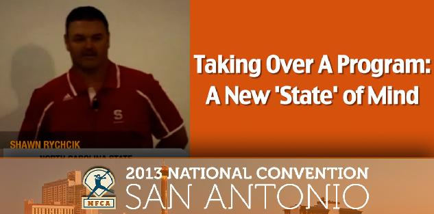 Taking Over a New Program: A New 'State' of Mind #NFCA2013