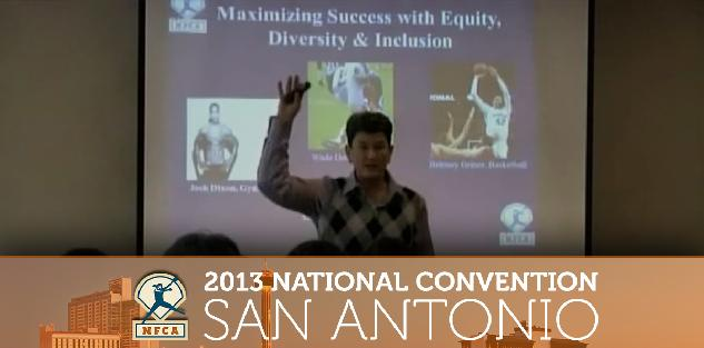 Maximizing Success with Equity, Diversity & Inclusion #NFCA2013