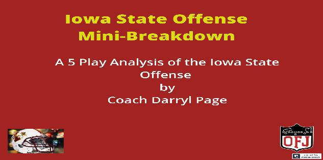 Iowa State Offense 5 Play Mini-Breakdown