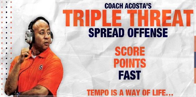 Triple Threat Spread Offense Youth Football Playbook