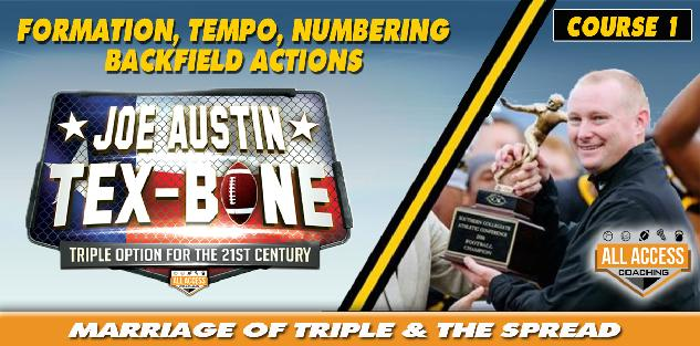 TEX-BONE Formation Tempo Backfield Numbering
