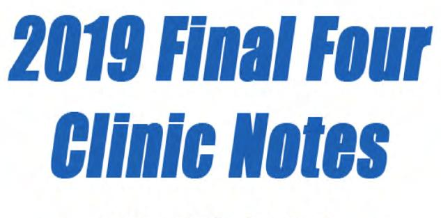 {FREE} 2019 NABC Final Four Clinic Notes