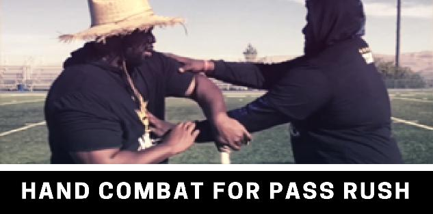 Hand Combat For Pass Rush