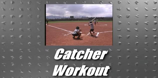 Catchers Baseball Workout