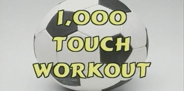 1000 Touch Soccer Workout