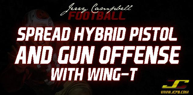 Spread Hybrid Pistol and Gun Offense with Wing T