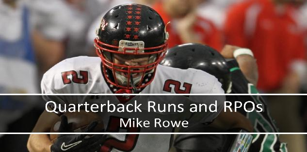 Quarterback Runs and RPOs