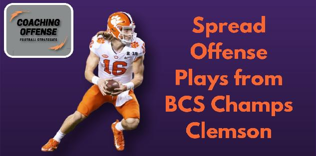Spread Offense Plays From BCS Champs Clemson