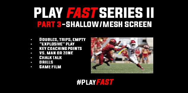 Play FAST Clinic II: MESH SCREEN