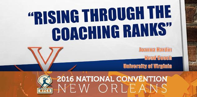 Rising through the Coaching Ranks #NFCA2016