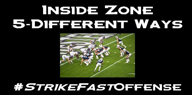 Inside Zone 5 Different Ways