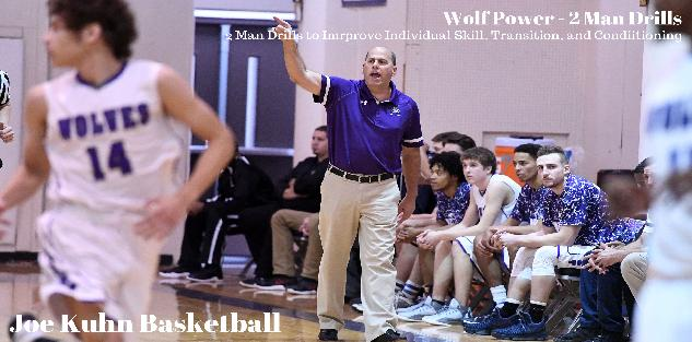 Wolf Power - 2 Man Transition Drills eBook